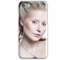 Winter snow queen woman portrait iPhone Case/Skin