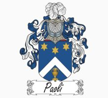 Paoli Coat of Arms (della Toscana) by coatsofarms