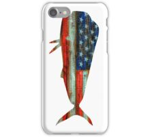 Mahi Mahi USA Merica Dolphin iPhone Case/Skin
