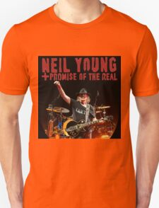 best music poster neil young promise real Unisex T-Shirt