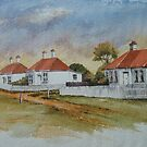 Low Head Cottages by Muriel Sluce by Wendy Dyer