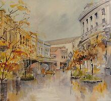 The Quadrant, Launceston by Muriel Sluce by Wendy Dyer