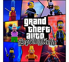 GTA Springfield Photographic Print