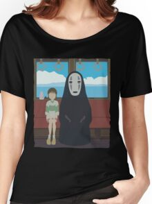 No Face Train Women's Relaxed Fit T-Shirt