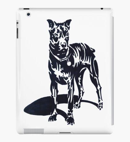 PIT BULL PUPPY (Graffiti) iPad Case/Skin