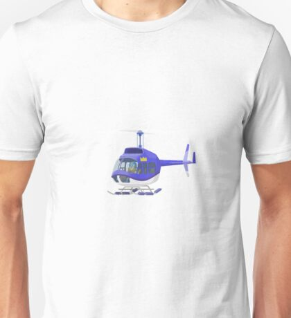 Big City Vehicles - Lion Pilot Flying Helicopter  Unisex T-Shirt