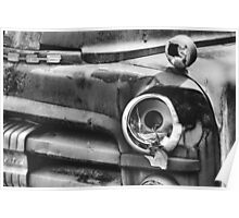 'Broken' black and white Poster
