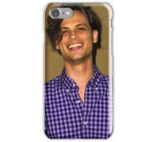 Matthew Gray Gubler purple shirt iPhone Case/Skin