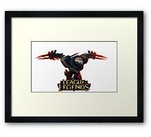 Project Zed - League of Legends Framed Print