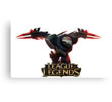 Project Zed - League of Legends Canvas Print