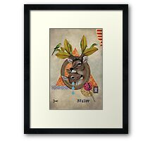 Animal Collection -- Oh Deer Framed Print