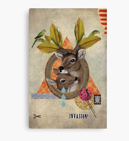 Animal Collection -- Oh Deer Canvas Print