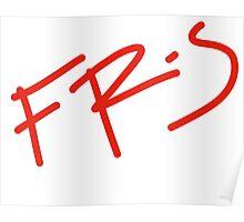 FR-S Fonts  Poster