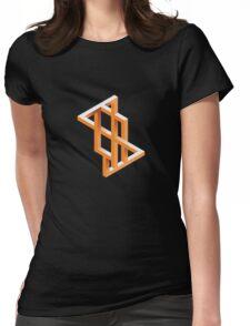 Escher Maze Womens Fitted T-Shirt