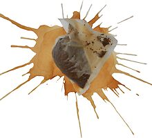 Tea Bag Splat by ramosecco