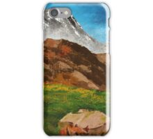 Above the Tree Line iPhone Case/Skin