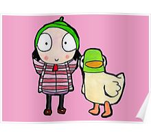 sarah and duck Poster