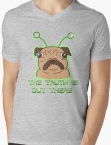 The Pug Files- fawn fur Mens V-Neck T-Shirt