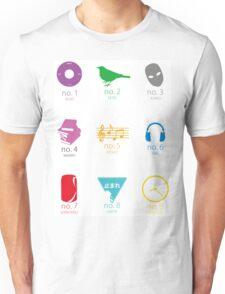 Mekakushidan!! (Kagerou Project/Mekakucity Actors) Unisex T-Shirt