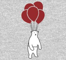 Polar Bear and Balloons  by DylanCarlson