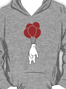 Polar Bear and Balloons  T-Shirt