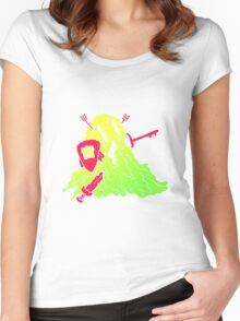Ooze Armour Key Holder Women's Fitted Scoop T-Shirt