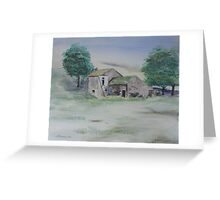 The Abandoned House Greeting Card