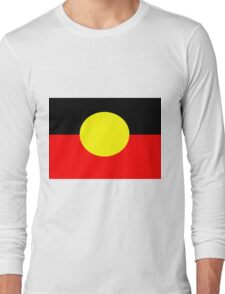 Aboriginal Flag Long Sleeve T-Shirt