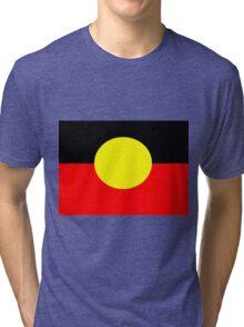 Aboriginal Flag Tri-blend T-Shirt