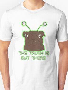 The Pug Files- black fur Unisex T-Shirt