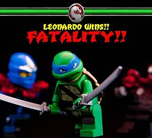 Leonardo Wins by monkeyshrike