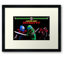 Leonardo Wins Framed Print