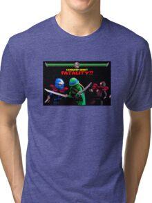 Leonardo Wins Tri-blend T-Shirt