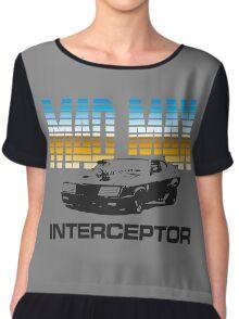 MAD MAX - INTERCEPTOR (MIRROR) Chiffon Top