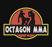 Octagon MMA Jurassic Fighting One Piece - Short Sleeve
