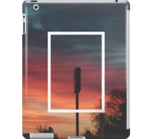 The 1975 Sunset Rectangle iPad Case/Skin