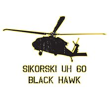 Army UH-60 Black Hawk Helicopter by Downwind