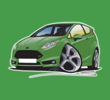 Ford Fiesta (Mk7) ST Green Baby Tee