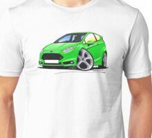 Ford Fiesta (Mk7) ST Green Unisex T-Shirt
