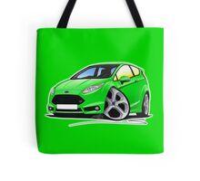 Ford Fiesta (Mk7) ST Green Tote Bag