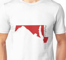 Maryland Red Unisex T-Shirt