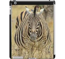 Zebra - African Wildlife - Laboring Pregnancy  iPad Case/Skin