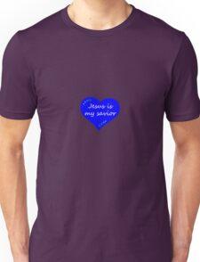 Blue Heart 1 Unisex T-Shirt