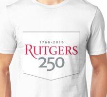 Rutgers 250th Anniversary Banner Unisex T-Shirt