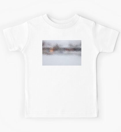 Canadian Ice Landscape Abstract Kids Tee