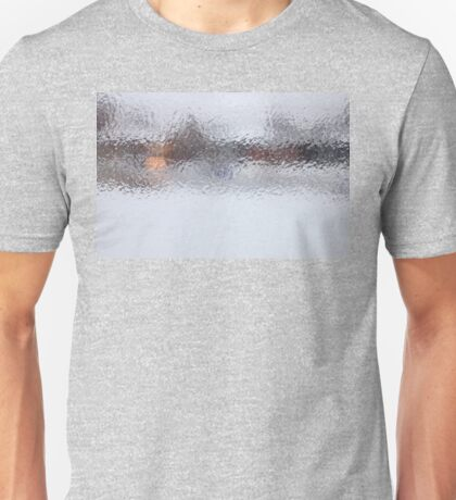 Canadian Ice Landscape Abstract Unisex T-Shirt