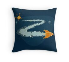 Z for Zoom Throw Pillow