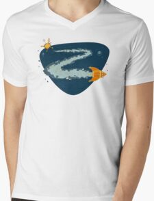 Z for Zoom Mens V-Neck T-Shirt