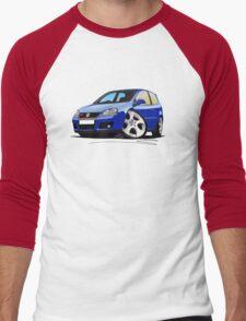 VW Golf (Mk5) GTi Blue Men's Baseball ¾ T-Shirt