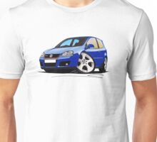 VW Golf (Mk5) GTi Blue Unisex T-Shirt
